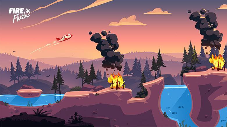 «Fire Flush» — аркадный сайд-скроллер от создателей «REKT!»