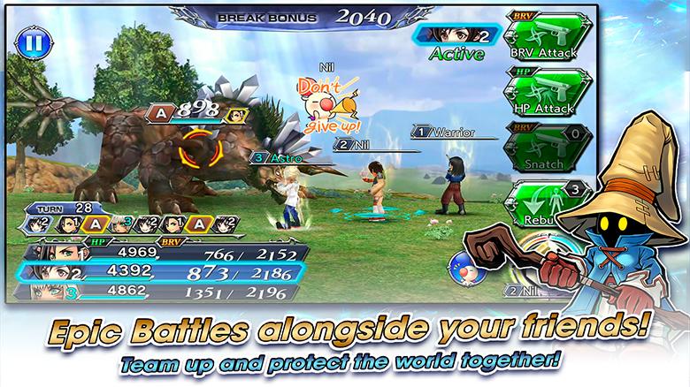 Английская версия «Dissidia Final Fantasy Opera Omnia» от Square Enix наконец-то вышла в AppStore