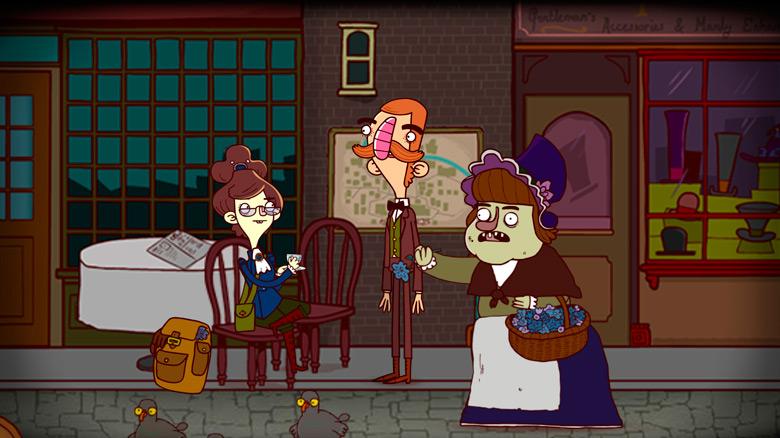 Вышло долгожданное продолжение адвенчуры «Bertram Fiddle: Episode 2: A Bleaker Predicklement»