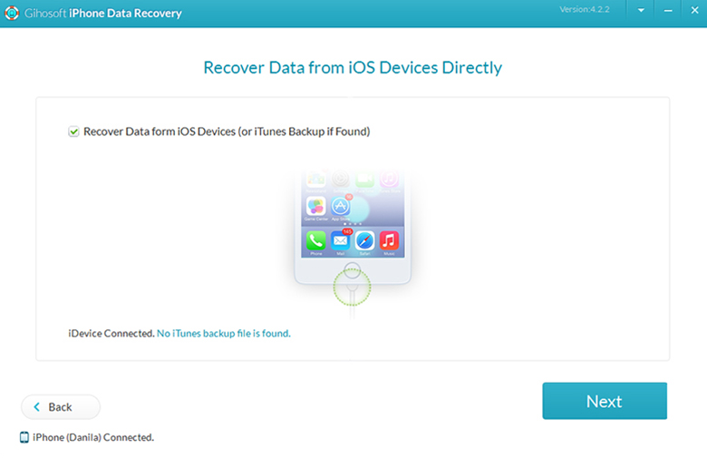 Как восстановить утерянные данные iPhone с помощью «Gihosoft iPhone Data Recovery»
