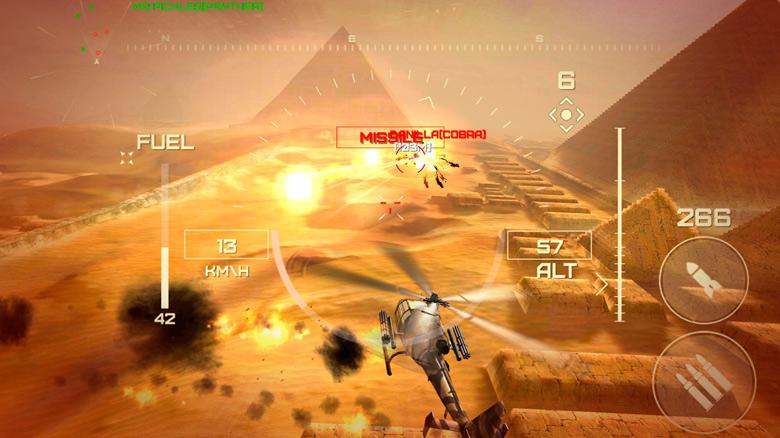 В AppStore появился авиасимулятор «World Of Gunships Online» от GameSpire