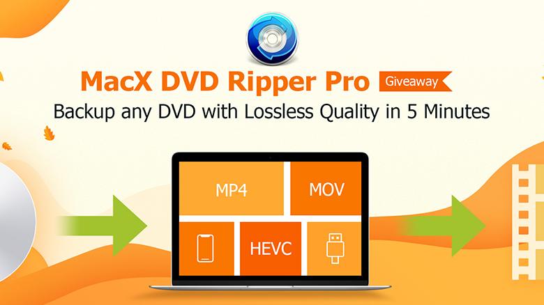 Бесплатная запись DVD на Mac c «MacX DVD Ripper Pro»