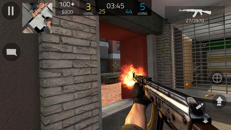 «Forward Assault» от создателя «Bullet Force» — экшн, бомбы и deathmatch