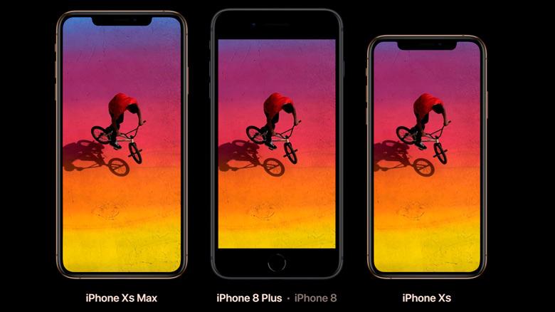 Apple представила iPhone XS и iPhone XS Max