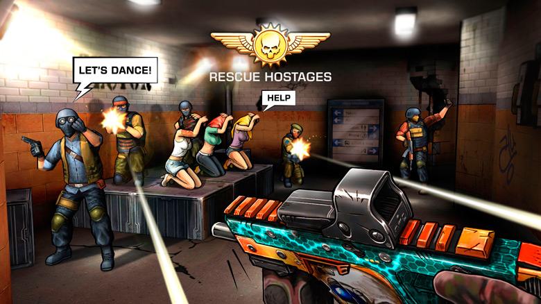 Релиз сиквела динамичного FPS-тира «Major GUN 2»
