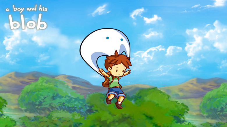Ремейк классического платформера «A Boy And His Blob» доступен на iOS