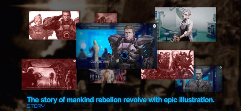 «Earth Wars» – «Gears Of War» по-японски