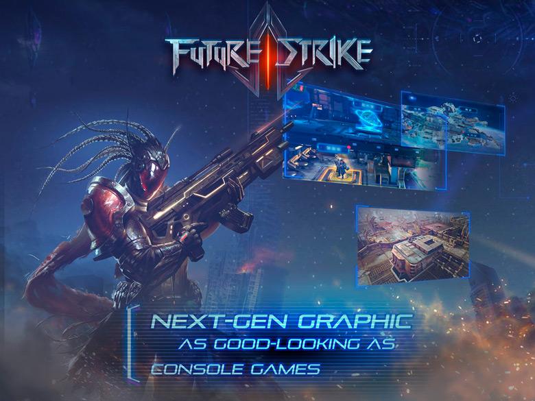 Новый dual-stick шутер «Future Strike» от создателей серии «The World»