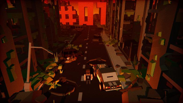 Zombie Apocalypse Racer — автомобильный раннер с пушками и зомби