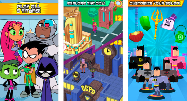 «Teen Titans 2: Go Figure!», игра о коллекционировании и битвах фигурок, вышла в App Store, но не в российском