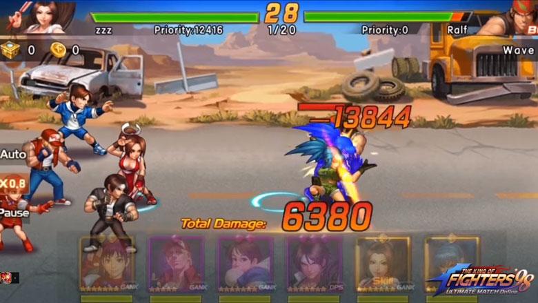 Ролевая игра «King of Fighters '98 Ultimate Match Online» доступна по всему миру для iOS