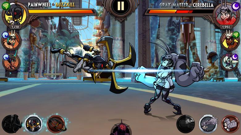 Вышла мобильная версия файтинга про дамочек с яркими формами «Skullgirls»