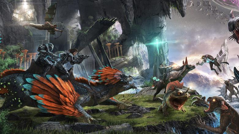 Многопользовательская «Ark: Survival Evolved» выйдет на iOS и Android этой весной