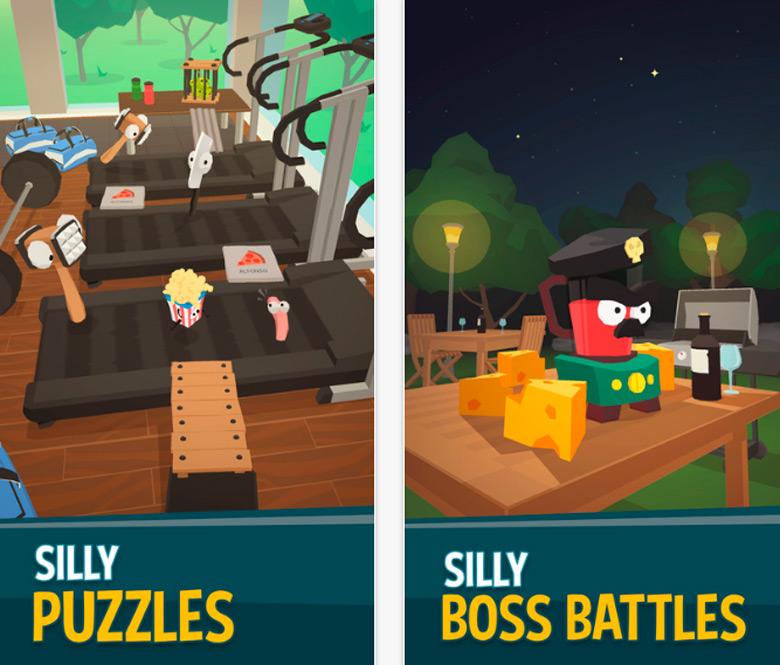 Сыграйте за ожившую еду в веселой «Silly Walks» от художника «Angry Birds»