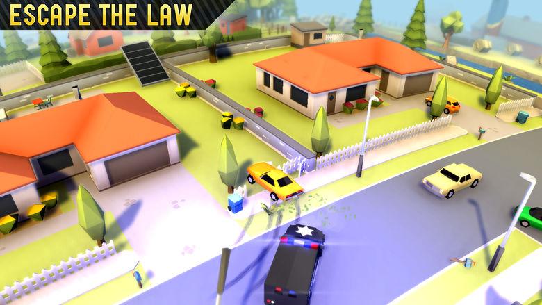 «Reckless Getaway VS» – обновлённая часть симулятора побега от копов с платформой «Skillz»