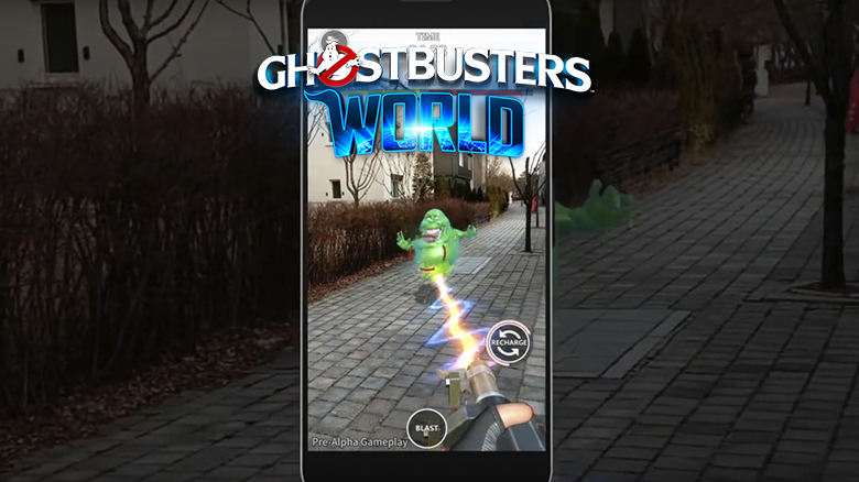 Four Thirty Three показала видео геймплея AR-блокбастера «Ghostbusters World»
