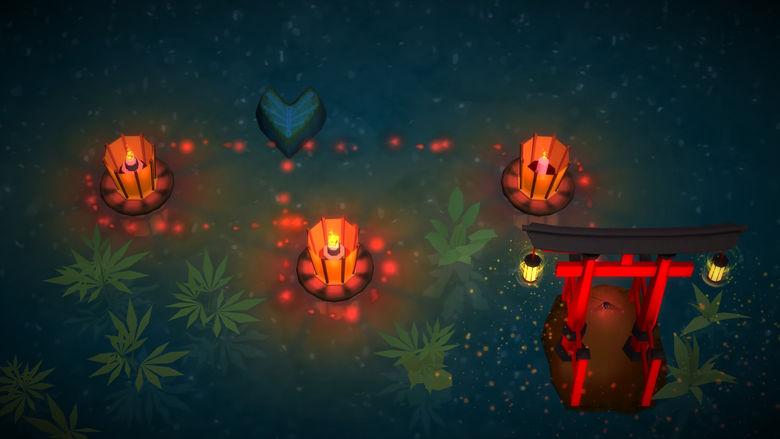 Помогите светлячку в умиротворяющей головоломке «Ashi: Lake Of Light»