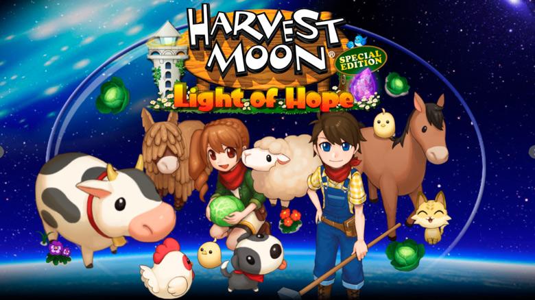 Начните жизнь по новой в «Harvest Moon: Light Of Hope»