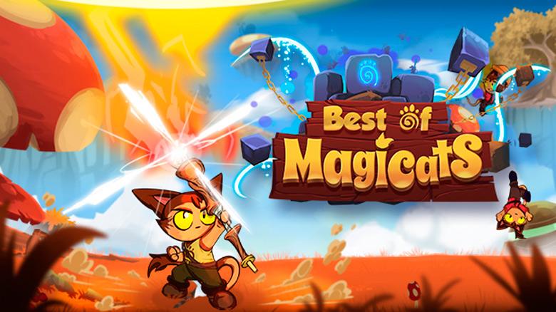 Создавайте и делитесь уровнями в платформере «Magicats Builder»