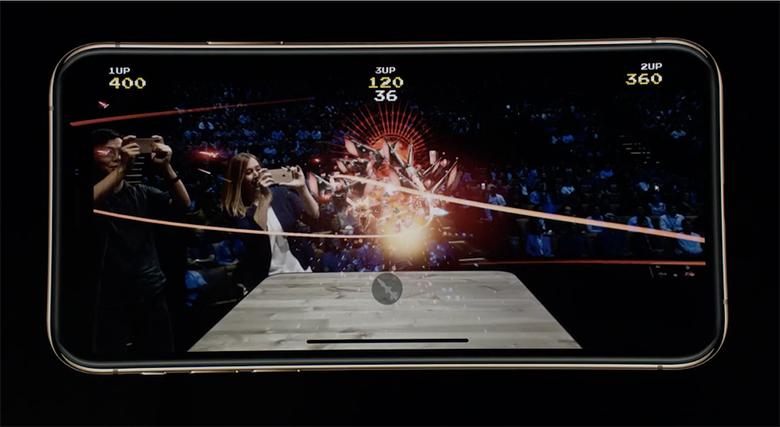 «Galaga AR»: из мира ретро-автоматов в реальный мир