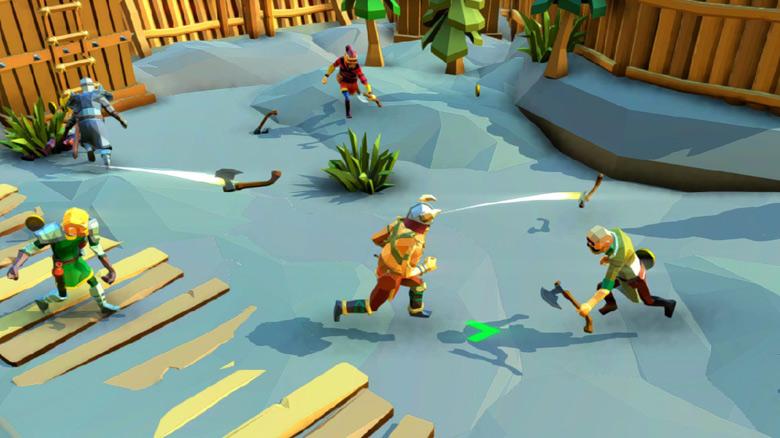«Axe.io» от Crescent Moon Games станет доступной уже на этой неделе