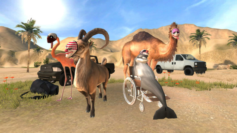 Payday который мы заслужили: состоялся релиз Goat Simulator PAYDAY
