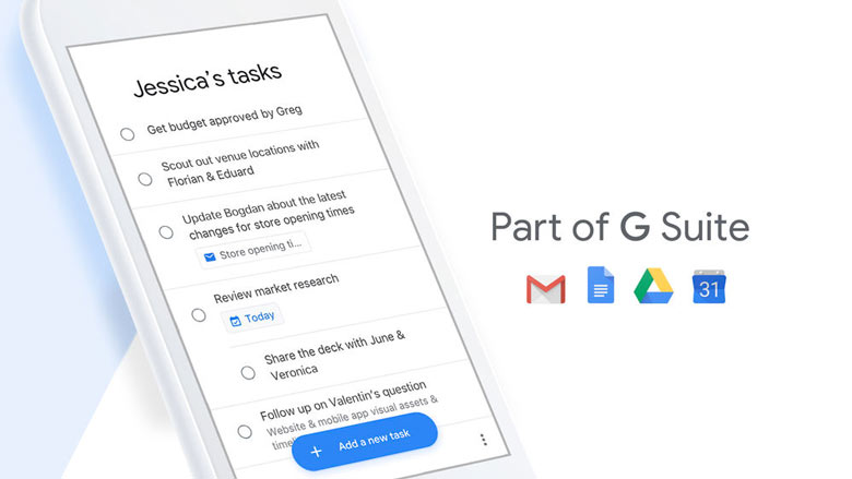 «Google Tasks» – менеджер задач от Google