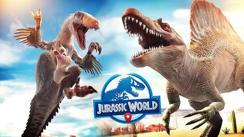 «Jurassic World™ Alive»: мировая охота за динозаврами уже началась [мировой релиз]