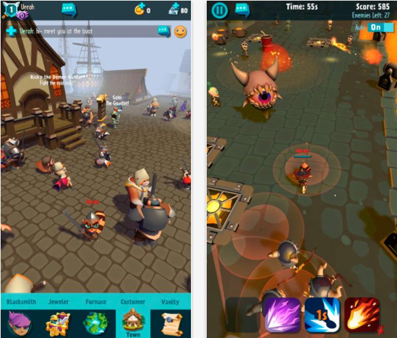 «Pocket Legends: Adventures» – RPG с уникальной системой развития персонажей
