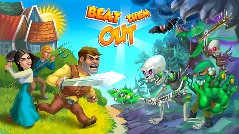 «Beat Them Out» – веселый и динамичный Beat 'em up PvP-Action уже на Android и скоро на iOS