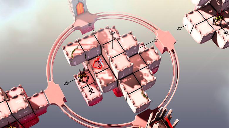 «Euclidean Skies» – невероятно красивая головоломка с необычной механикой