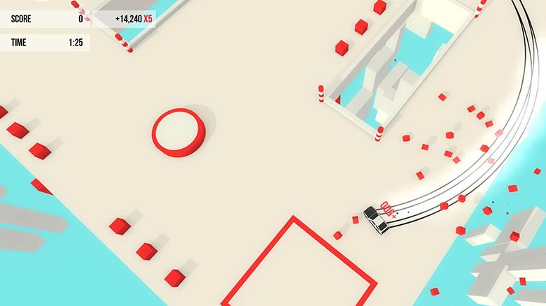 Игра для ценителей эстетики дрифта «Absolute Drift» доступна в App Store. Абсолютно