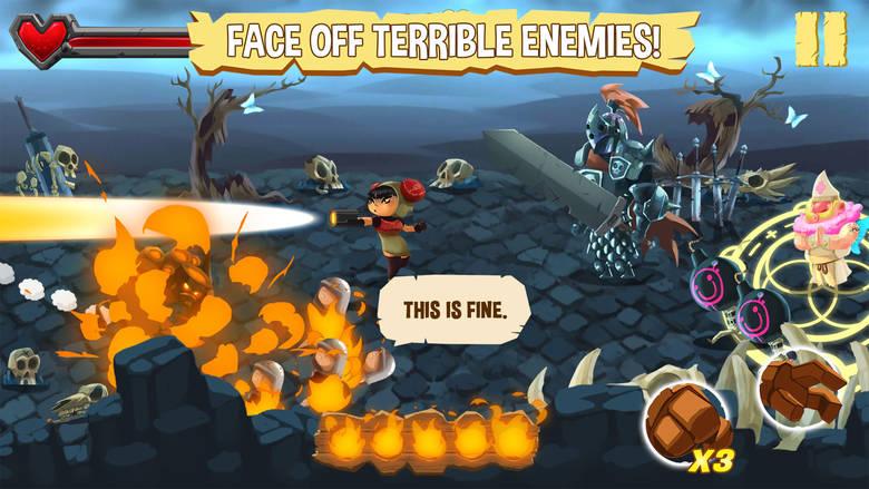 «Golem Rage», необычная смесь раннера и beat'em up, появилась в AppStore