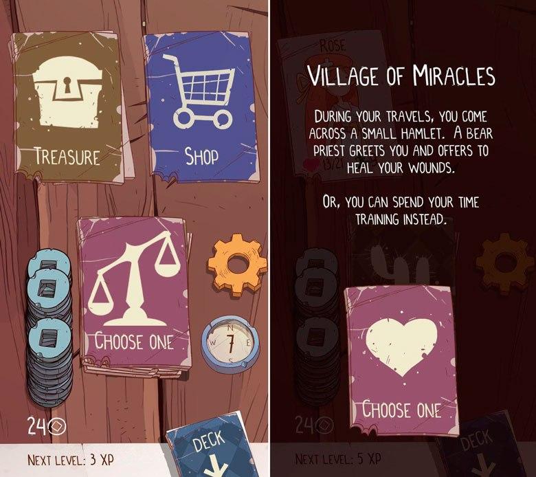 «Meteorfall: Journey» – что будет если скрестить rogue-like с ККИ