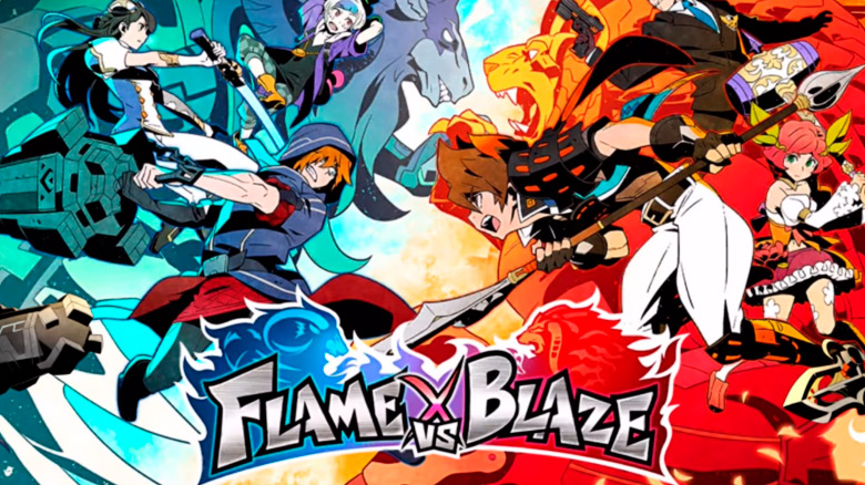 Square Enix объявила о закрытом бета-тесте MOBA «Flame vs Blaze»