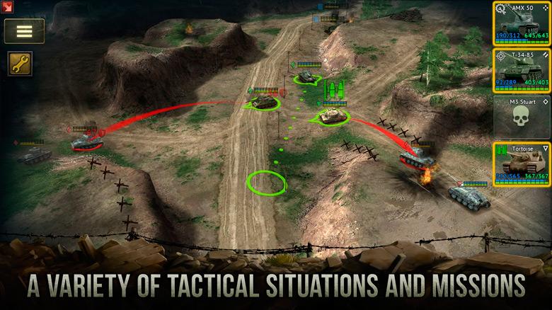 Танковая стратегия Armor Age от HeroCraft доступна широкой публике [софт-запуск]