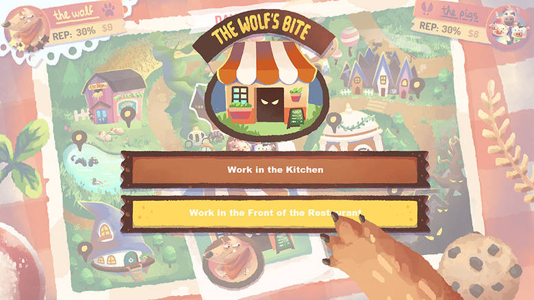 Экономическая стратегия «The Wolf's Bite» по мотивам сказки «Три поросенка» вышла в App Store
