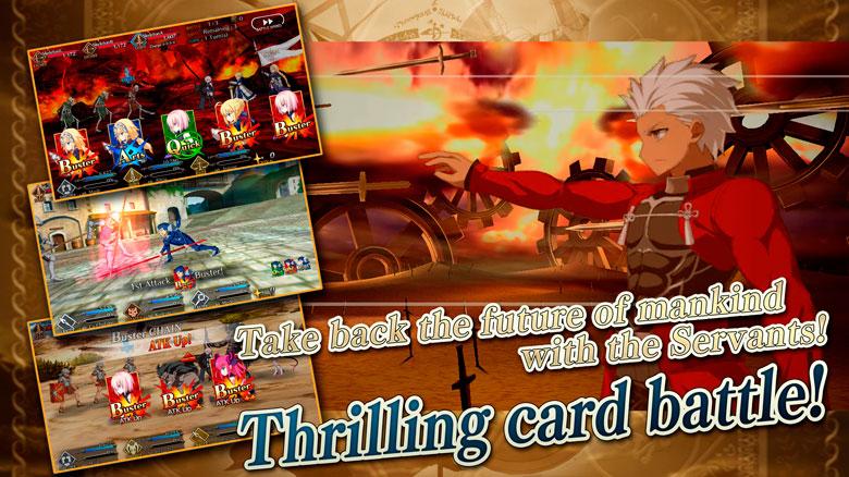 «Fate/Grand Order» компании TYPE-MOON стала доступна на английском