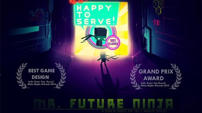Стелс-экшен пазлер «Mr. Future Ninja» обзавелся датой выхода и новым трейлером