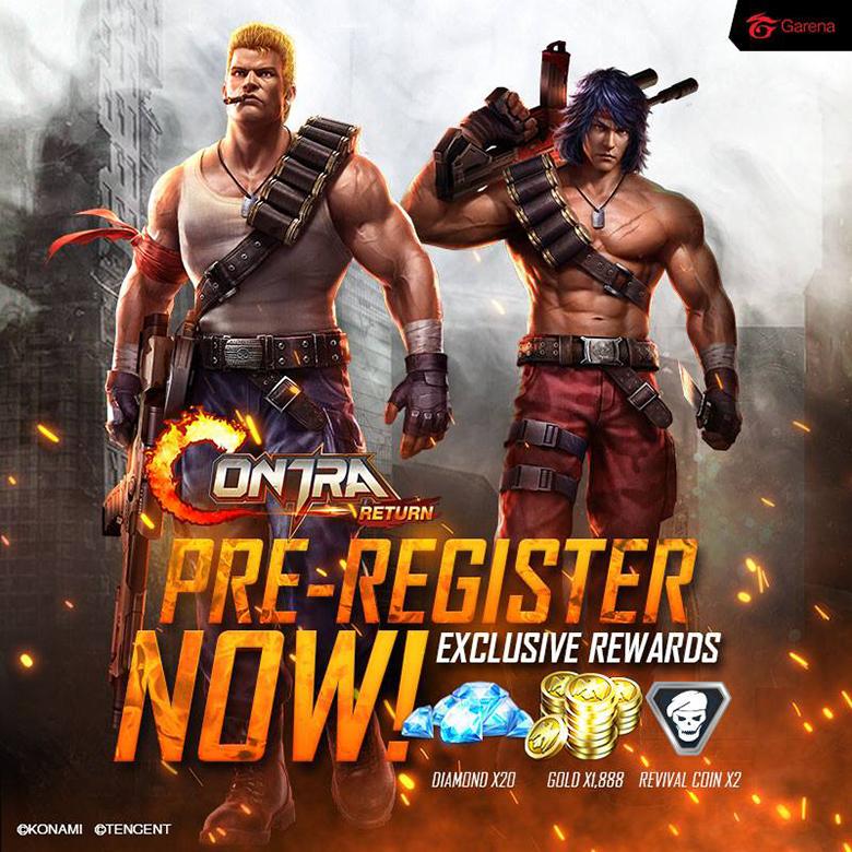 Garena проводит пре-регистрацию в «Contra: Return» для жителей Юго-восточной Азии