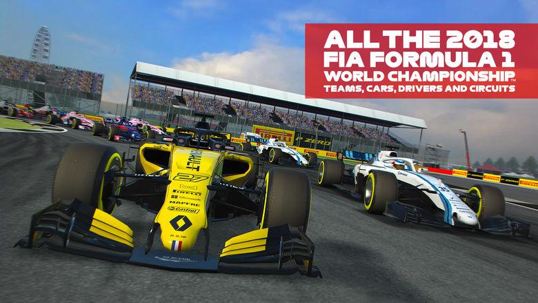 Codemasters выводят на трассу новые гонки «F1 Mobile Racing» [софт-запуск]