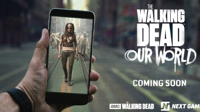«The Walking Dead: Our World» – AR-игра по мотивам популярной франшизы