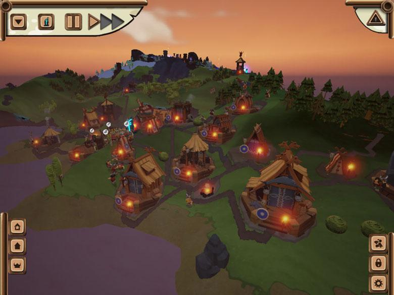 Мобильный порт стратегии про викингов «Valhalla Hills» авторов «The Settlers II 10th Anniversary»