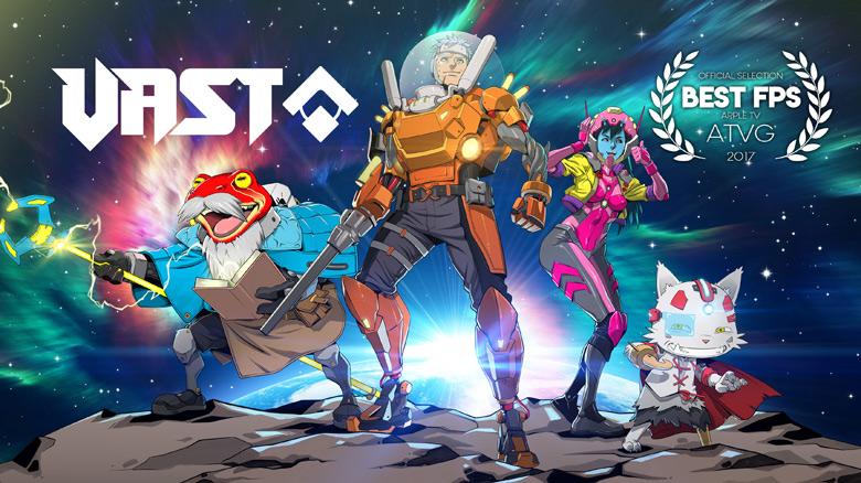 Эпизодический безбашенный sci-fi шутер «VAST» доступен на iOS