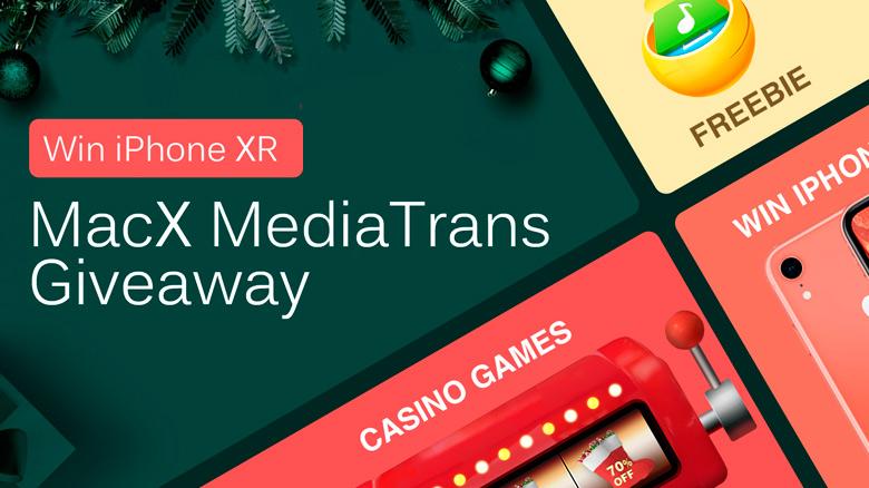 Большая рождественская раздача от Digiarty MacXDVD – выиграйте iPhone XR