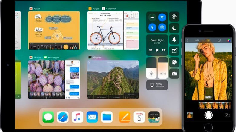 iOS 11: Список поддерживаемых моделей iPhone и iPad