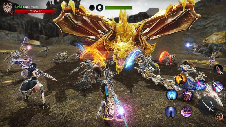 MMORPG от Nexon M «AxE: Alliance vs Empire» получит мировой релиз в этом году