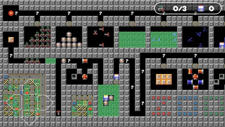Путешествие по микросхемам серии игр «Supaplex»