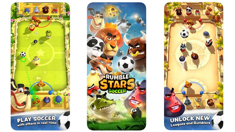 «Rumble Stars Soccer»: звериный чемпионат по футболу от создателей «Badland» теперь доступен и в России