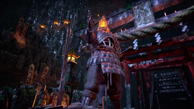 Shurado — смесь игр серии Dark Souls и Infinity Blade